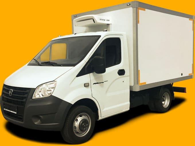 ГАЗель — фургон-рефрижератор ГАЗ 3302.