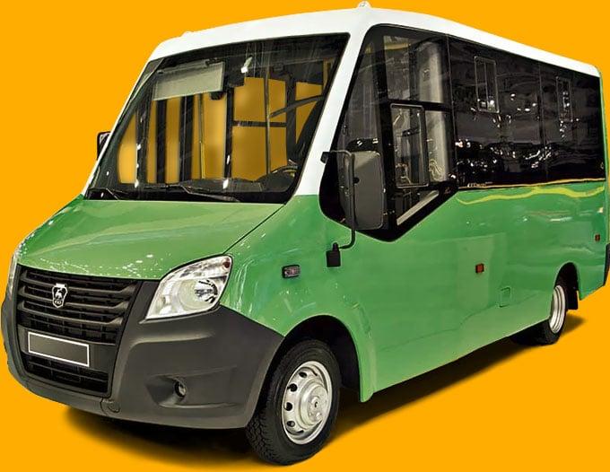 ГАЗ NEXT Citiline (Ситилайн) — автобус малого класса.