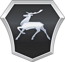 Горьковский автозавод — ГАЗ (GAZ, ГАЗель) — логотип маленький.