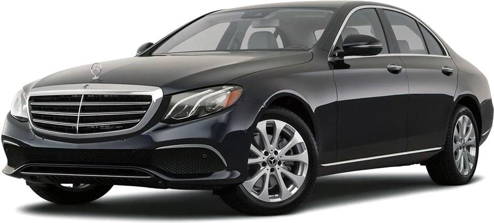 «Такси в лизинг» — Mercedes E 200.