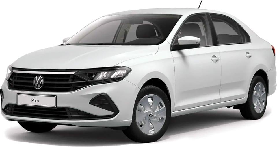 «Такси в лизинг» — Volkswagen Polo.